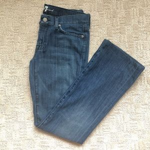 7 For All Mankind Women's  Bootcut Jeans Sz 27